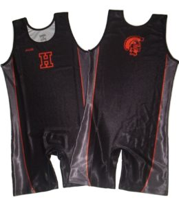 Sublimated Men's Wrestling Singlets