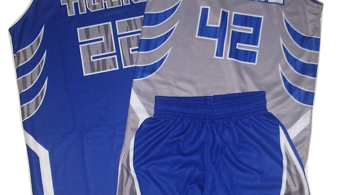 REVERSIBLE JERSEY AND SINGLE SIDE SHORT BASKETBALL UNIFORM