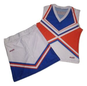 Sublimated Sleeveless Cheer Uniform Sets