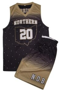 FULL REVERSIBLE BASKETBALL UNIFORM