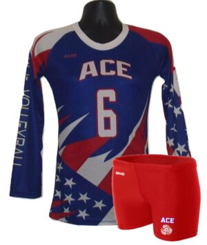 SUBLIMATED VOLLEYBALL UNIFORM SET