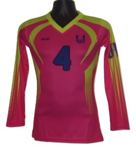 CUSTOM SUBLIMATED VOLLEYBALL JERSEY