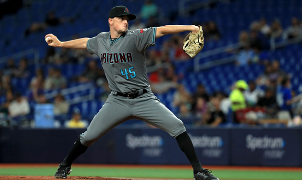 A timeline of Zack Godley's spot in the D-backs' rotation